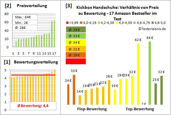 Kickbox-Handschuhe Test Bewertung