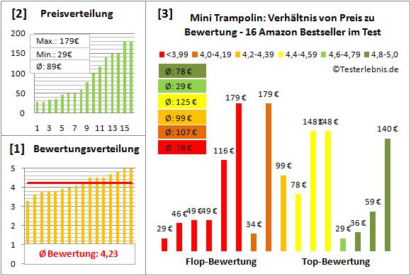 Mini-Trampolin Test Bewertung