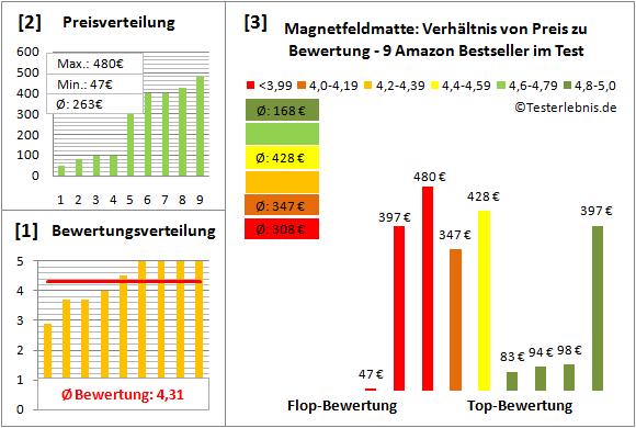 magnetfeldmatte Test Bewertung